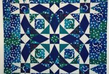 Storm at Sea & Snail trail Quilts