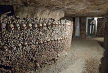 Arte macabra / Capelas de Ossos, ossários, sepulturas