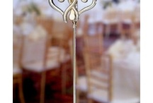 Placecard Holders / Place cards are an absolute must for informing your guests of where to sit at the wedding reception. There's no need to settle for a plain card, however. Wedding place card holders can be elegant, whimsical, and/or adorable, and can fit right in with your wedding theme.  http://discountweddingfavors.com/56-placecard-holders-wedding-favors / by Laura Scott