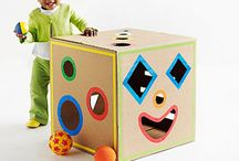Cardboard Box Creations / by Bonka Perry