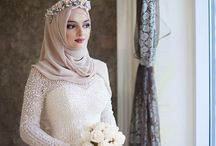 wedding hijab