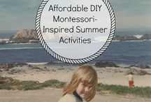 Montessori activities for kids / Montessori kids activites, tips for parents and teaches