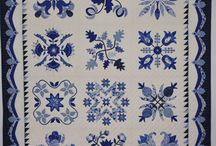 Quilts - Indigo and Blue