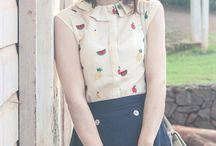 Moda Vintage e Japonesa :)