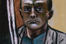 Max Beckmann (1884-1950) / Max Beckmann was a German painter, draftsman, printmaker, sculptor, and writer. Although he is classified as an Expressionist artist, he rejected both the term and the movement.
