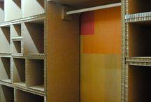 Cardboard Closet system