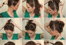 Easy hair styles / by Cydney Witter