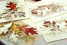 Dipinto foglie