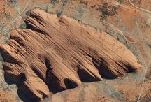 Landforms from air