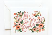 Bridesmaids / Bridesmaid Dress Ideas! Girls, Please pin ideas or anything you find/like here for us all to see. Going for long dress, preferably in Emerald / Blush / Gold / Sparkle / Something Rich. Thanks, Future Mrs. Kaiser :)