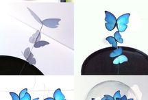 artes com borboletas