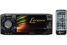 DVD Automotivo Lenoxx AD 2610 Tela 4:3 Entrada USB - SD e Auxiliar Frontal com Controle Remoto