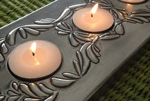 Pewter Candles & Lanterns