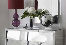 Mirrored Furniture / Modern mirrored furniture available from www.robert-thomson.com