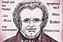 Schubert / The Austrian composer Schubert (1797 - 1828) led a short but highly productive life. He is best known for his lieder (songs for piano and voice) but composed work for most musical genres.