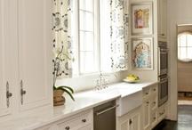 Kuchyna v bielom