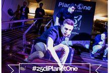 #25diPlanetOne / A Febbraio 2016 Planet One ha festeggiato 25 anni di attività con un party esclusivo. Immergetevi nel mood della serata e... LET'S START THE PARTY!