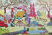 Embroidery via mom for me