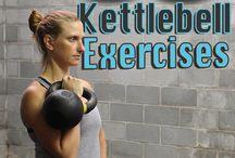 Kettlebell Egzersizleri / Popüler spor aleti kettlebell ile yapılabilecek egzersizler