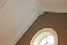 Indoor roof beams