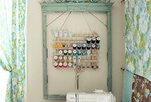Cuarto de costura / Ideas para armar mi cuarto de costura ideal