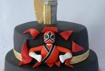 Samurai cakes, cookies and cupcakes