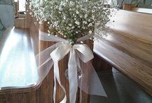Curch wedding decoration