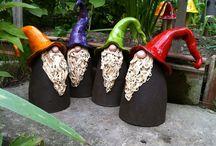 keramika - trpaslíci a skřítci