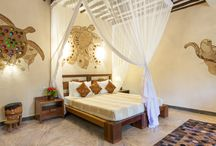 Zanzi Resort Interior Decorating... / Art and Decor in our Zanzi Resort Villas...
