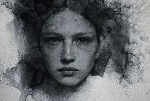 Casey Baugh / Charcoal