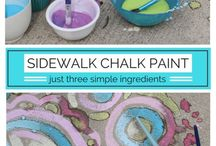 Chalk Painting/Chalk Ideas