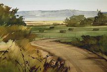 Joseph Alleman watercolor