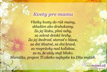 básne deň matiek