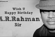 Happy_Birthday to #Ocsar Winner A.R. Rahman
