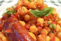 Luštěniny - pomazánky / Různé pokrmy z luštěnin