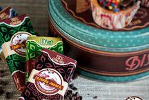 Chocolates da Fazenda / Chocolates de 50% a 90% do puro Cacau, que auxilia na dieta.