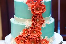 Inspired By Color - Peach and Blue and Mint / Wedding elements united in their love of colors