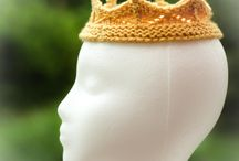 Вязаная корона