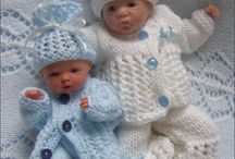 Doll's knitting patterns