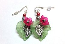 Lucite Flower Jewellery