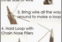 making s simple wire loop