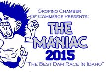 """""""The Maniac"""" The Best Dam Race In Idaho / Every Year Orofino Hosts """"The Maniac"""" which is a 3K or 5K run or walk across the top of Dworshak Dam; it is a race to remember!   Visit www.orofino.com to see when the next race is taking place!"""
