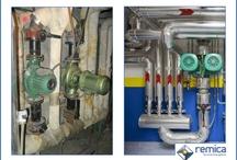 Instalaciones y mantenimiento de Remica / Trabajamos en conseguir la eficiencia energética. Esto requiere unas mejoras de las instalaciones de los edificios.