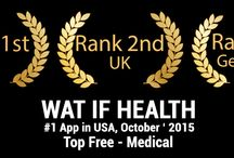 watif Health App Ranked 1st in US and Within top 10 in other countries