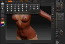 Zbrush Art & tutorials