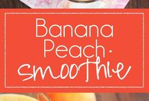 smoothies, healthy snacks