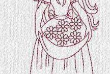 Mamma se embroidery