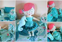 Χειροποίητα πάνινα κουκλάκια - Handmade fabric doll / Πάνινα κουκλάκια από 100% βαμβάκι, ιδανικά για βρεφικό δωράκι, στολισμό ή διακόσμηση παιδικού δωματίου. Σε περιορισμένη διαθεσιμότητα.  Πληροφορίες email: tyxero.koympi@gmail.com