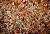 Homemade Granola / Home made granola for our guests arriving next week @wyastonetownhouse #pecan#walnut#pumpkinseed#vanilla#cinnamon#apricot