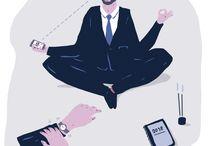 Debat og artikler i danske medier om mindfulness